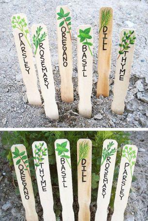 étiquettes herbes aromatiques