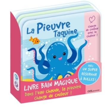 Livre de bain pieuvre