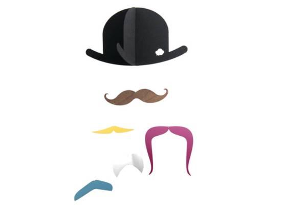 Mobile moustache