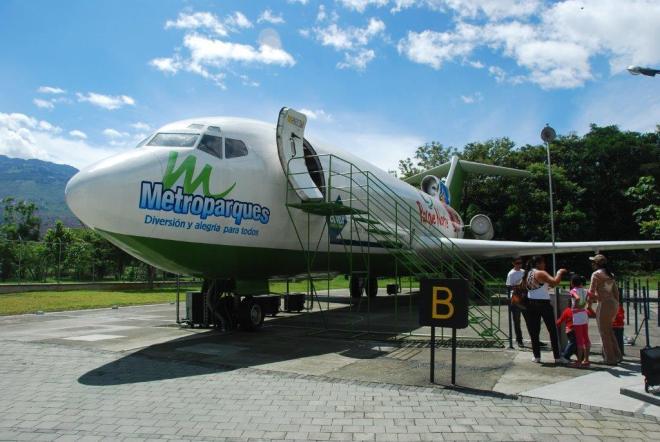 Parque Norte avion