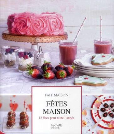 Livre Fête maison - Hachette