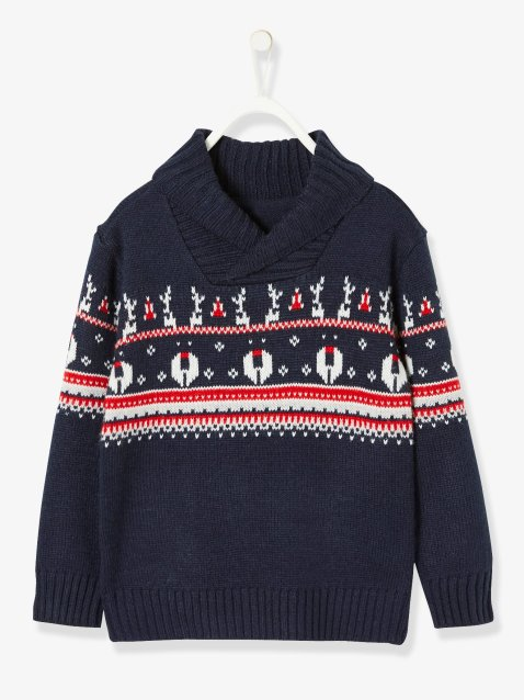 pull-jacquard-garcon-special-noel-col-croise